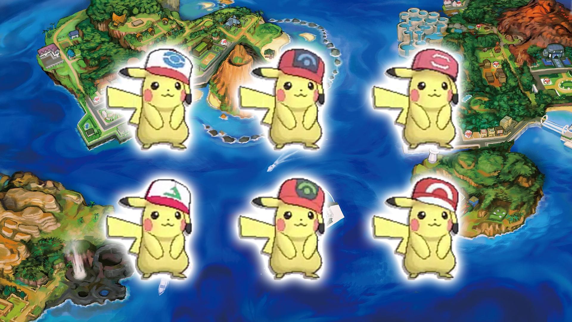 Resultado de imagem para Pikachu chapéu de Sinnoh